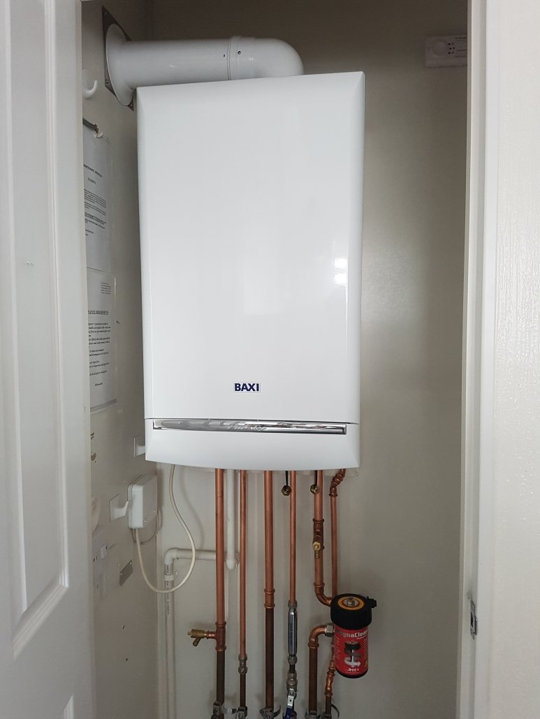 Baxi duo-tec installed in Waterbeach to replace old vokera combination boiler.