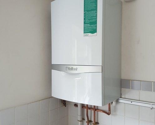 Vaillant Ecotec Plus 832 Installed